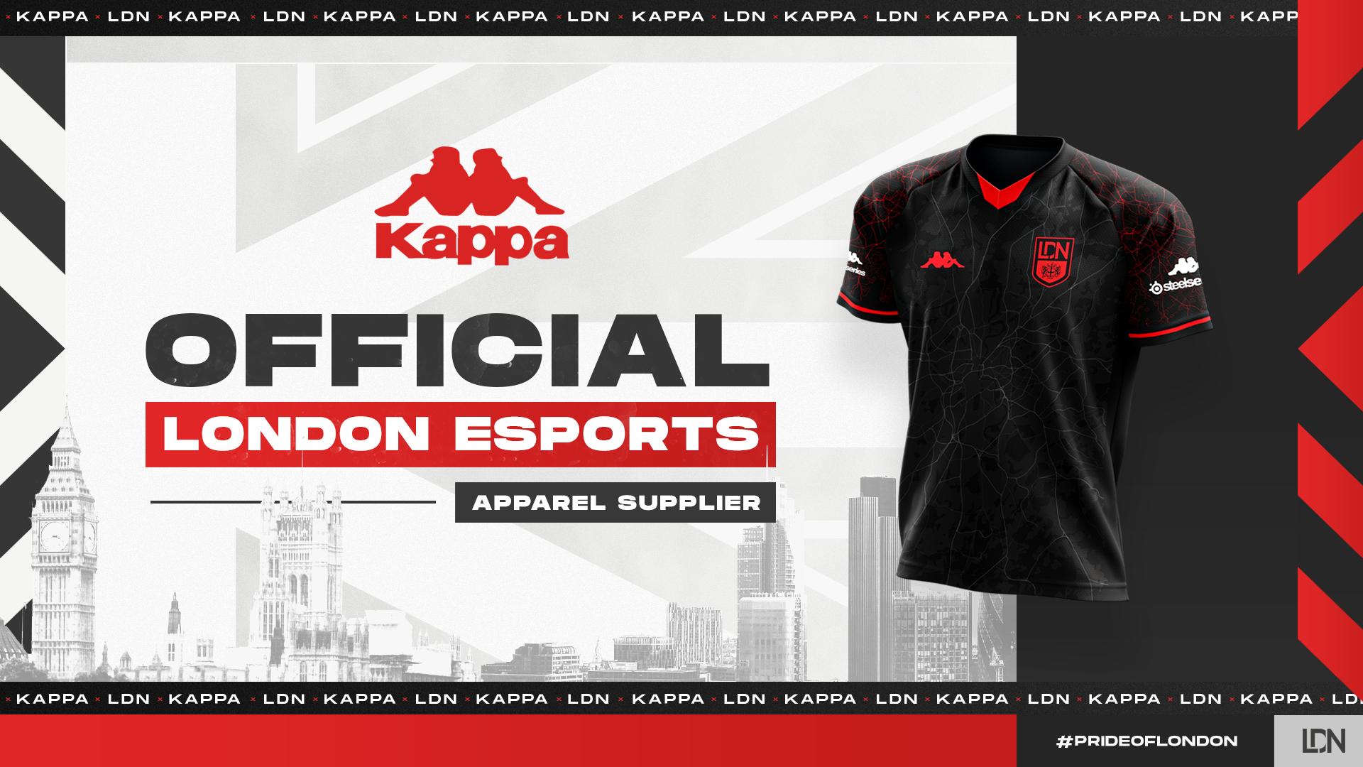 London Esports x Kappa