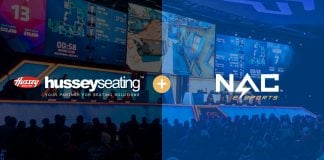 NACE finds seating partner in Hussey Seating
