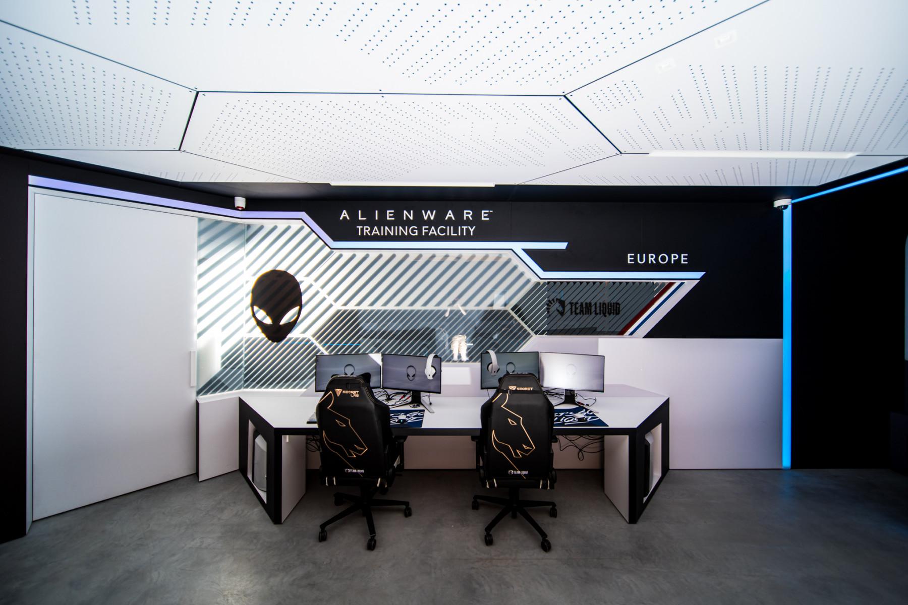 AlienWare Training Facility EU - Team Liquid Scrim Rooms