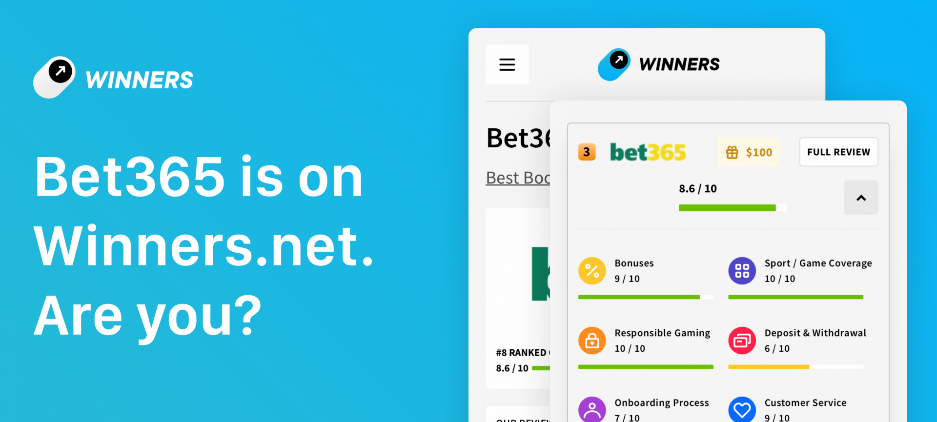 Winners.net x Bet365
