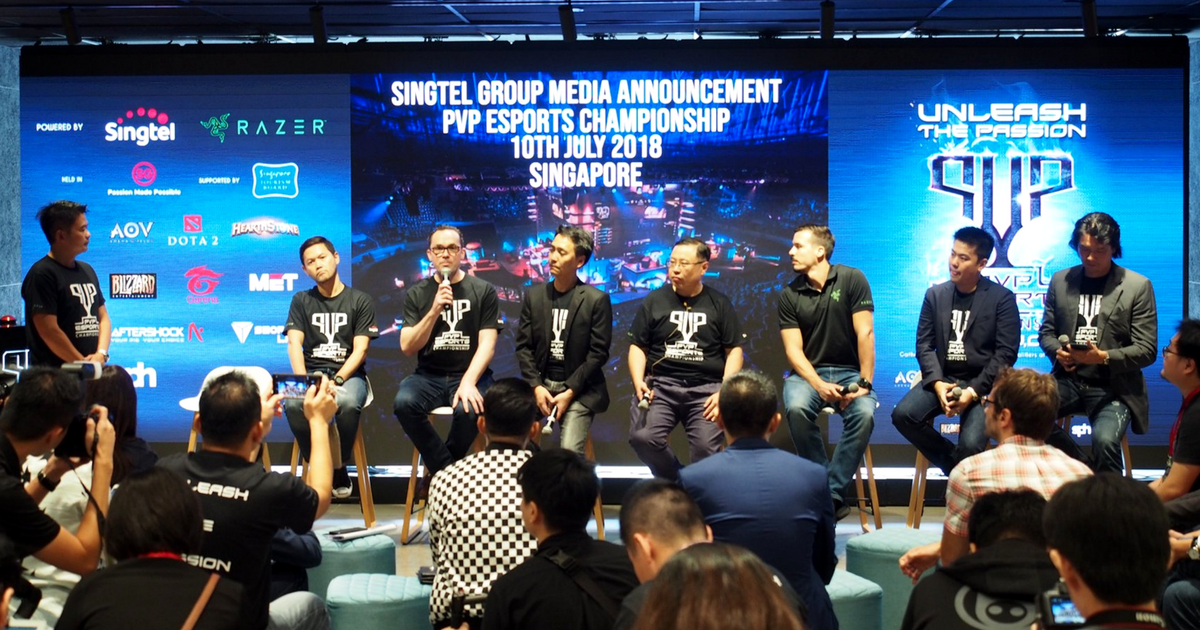 Singtel group pushes ahed with gaming and esports