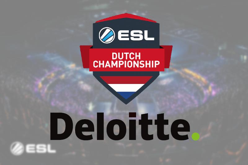 Deloitte Partners with ESL Benelux Dutch Championship