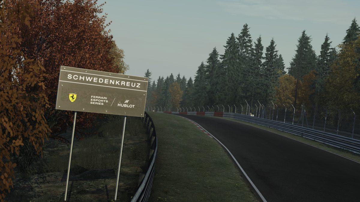 Ferrari Virtual Track Asset