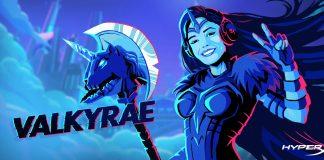 Valkyrae Heroes Artwork