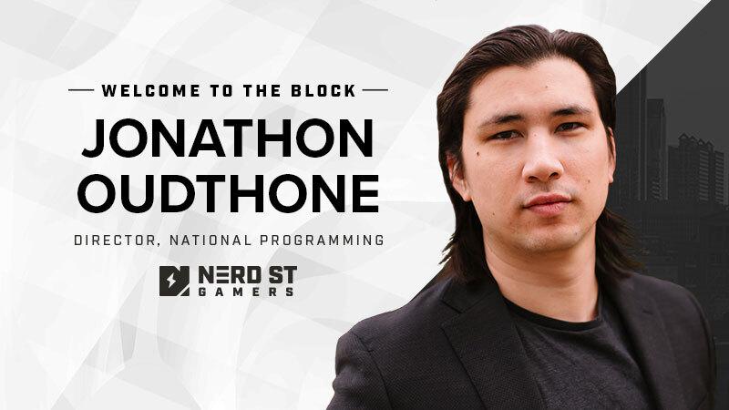 Jonathon Oudthone Nerd Street Gamers