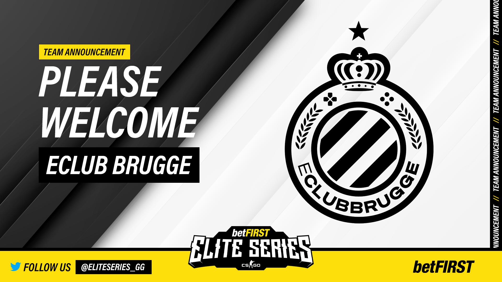 Club Brugge Elite Series League CS:GO Announcement