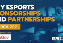Esports sponsorships & partnerships