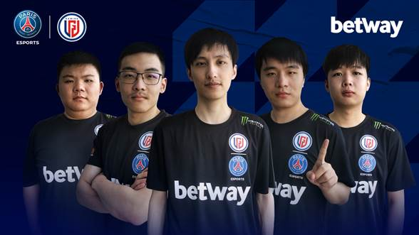 Psg Esports Extends Betway Partnership Esports Insider