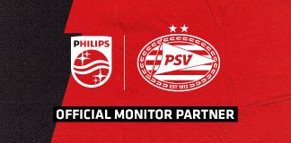 PSV Partnership Philips Monitors