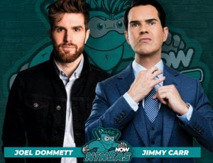 NOW, Jimmy Carr, and Joel Dommett join Celebrity Esports Superstar League