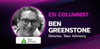 Ben Greenstone ESI guest columnist