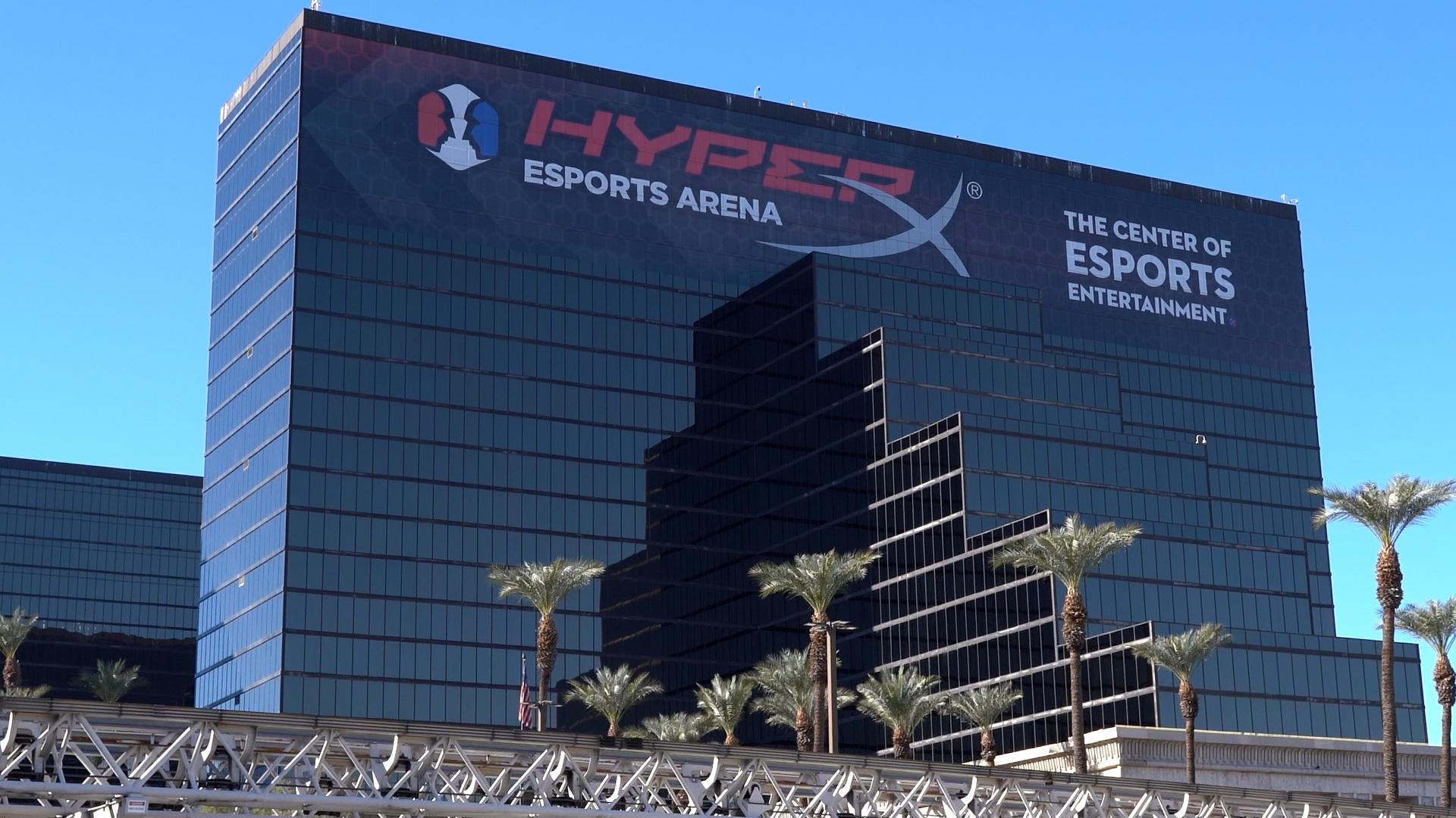 HyperX Arena Allied Esports Las Vegas