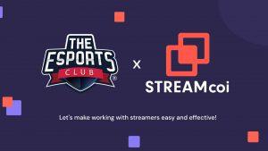 The Esports Club x Streamcoi