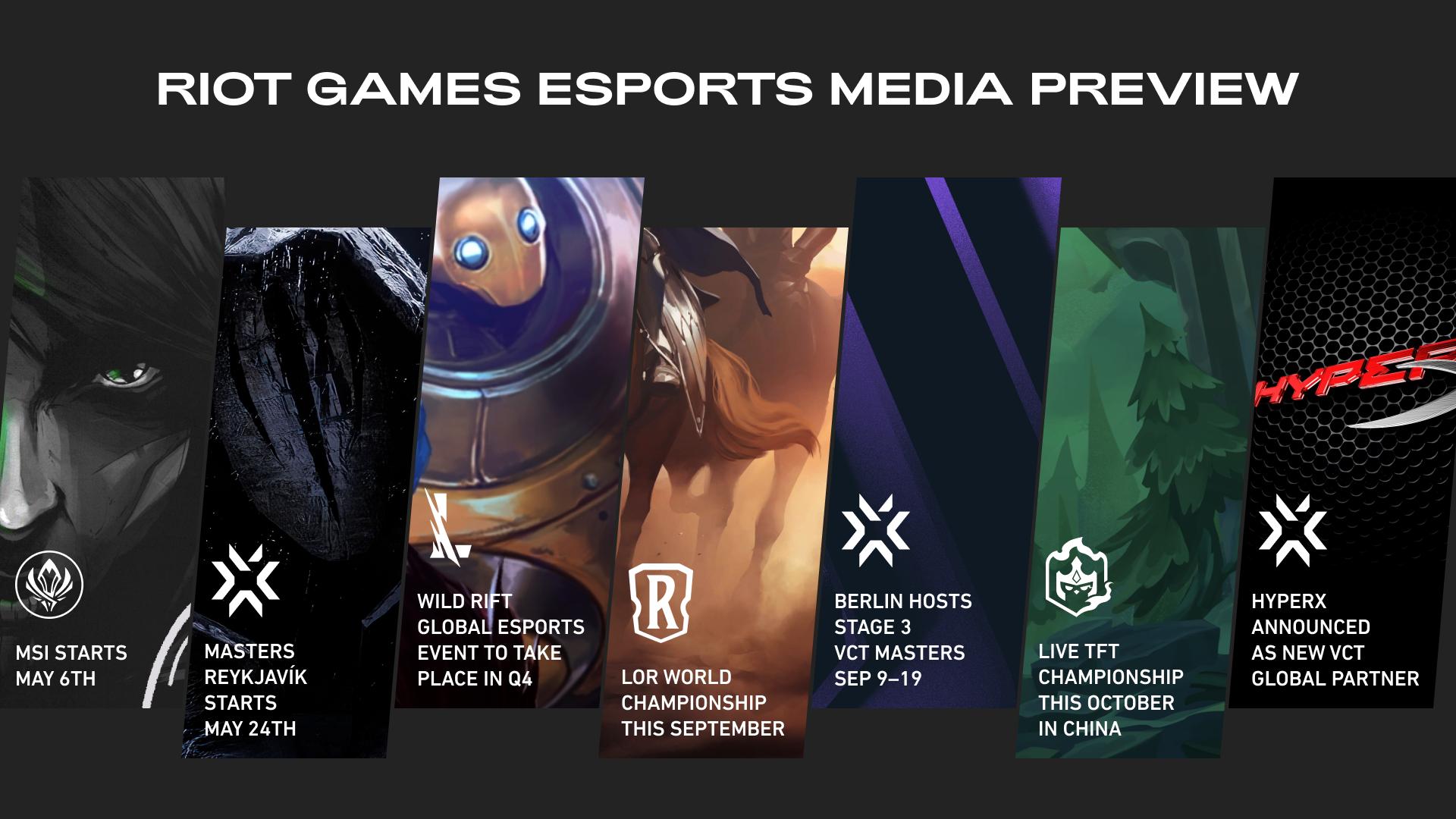 Riot Games Esports Media Preview