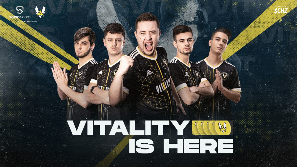 Team Vitality to launch fan tokens on Socios.com