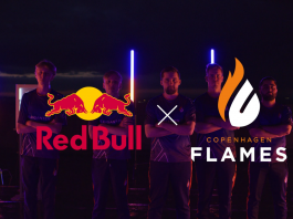Copenhagen Flames x Red Bull