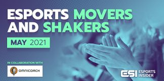 Esports Movers and Shakers May