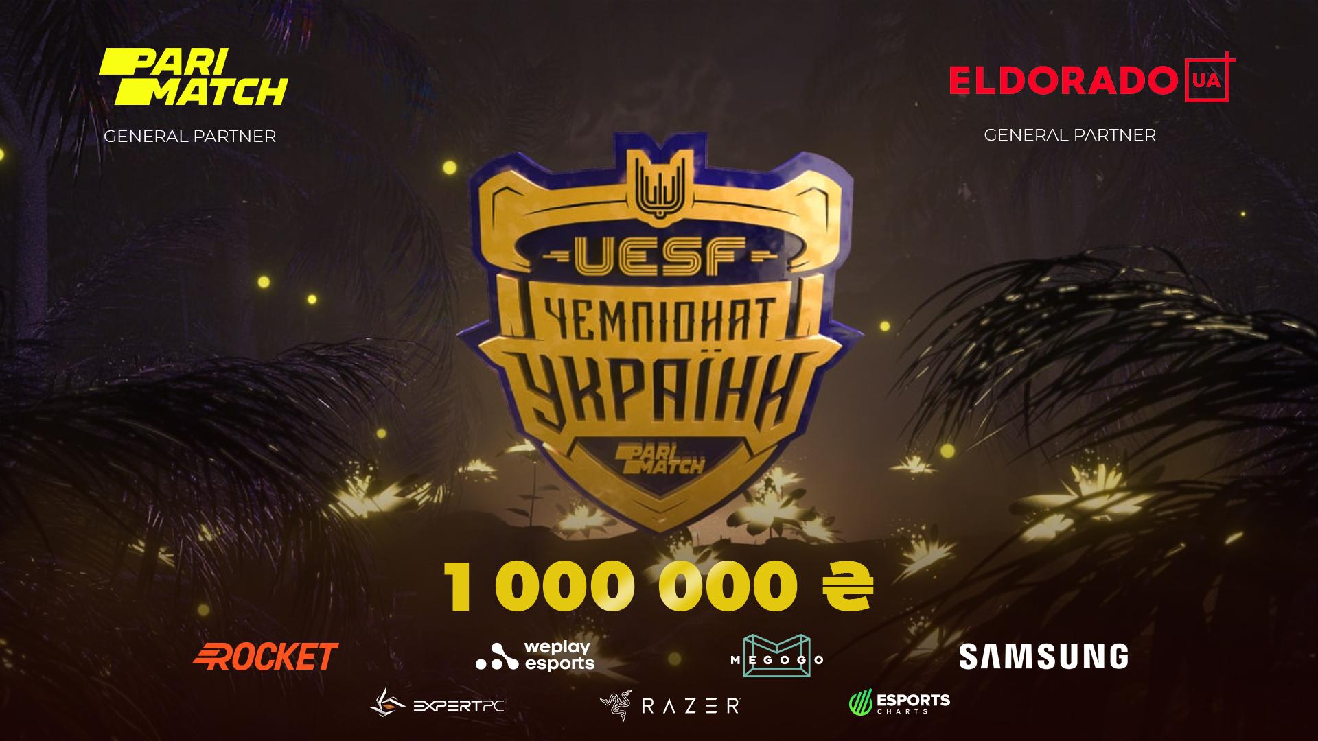 """Parimatch x UESF"""" width=""""1920"""" height=""""1080"""" />Crédit: UESF   <p><strong> CONNEXES: WePlay Esports s'associe à Parimatch pour les diffusions AniMajor</strong></p> <p>Un total de 1million de yens (26153£) de prix en argent sera attribué aux gagnants du tournoi, tandis qu'un montant supplémentaire de 500000yens (13076£) en «appareils de jeu», ordinateurs de jeu et accessoires sera disponible pour spectateurs via des cadeaux.</p> <p> La partie en ligne du tournoi se déroulera du 17 juillet au 3 octobre, et la grande finale devrait avoir lieu à la <strong>WePlay Esports Arena</strong> à Kiev à la mi-octobre. Une date exacte n'a pas encore été révélée. </p> <p>A côté de Parimatch, le détaillant d'électronique <strong>Eldorado</strong> a également été nommé commandité de l'événement. </p> <p><strong> CONNEXES: L'esport obtient la reconnaissance officielle du gouvernement en Ukraine</strong></p> <p> Depuis sa création en 2018, l'UESF a accueilli plus de 300 tournois nationaux et internationaux. Après avoir fait la promotion des sports électroniques dans la région, le ministère de la Jeunesse et des Sports de l'Ukraine a officiellement reconnu l'industrie comme un sport.</p> <p>2021 a déjà été une période très productive pour Parimatch. Le bookmaker a signé des extensions de partenariat avec Virtus.pro et Team Spirit en plus de nommer <strong> Marcelo 'coldzera' David </strong> comme ambassadeur mondial de l'esport. </p> <p> Plus récemment, le bookmaker s'est associé à WePlay Esports pour s'associer aux diffusions russe et ukrainienne du tournoi WePlay Esports AniMajor Dota 2.</p> <p><strong>Esports Insider déclare : Parimatch s'est imposé comme l'un des principaux bookmakers de la scène esport, et il n'est pas surprenant de voir l'UESF s'associer à elle pour ses prochains tournois.</strong></p> <p style="""