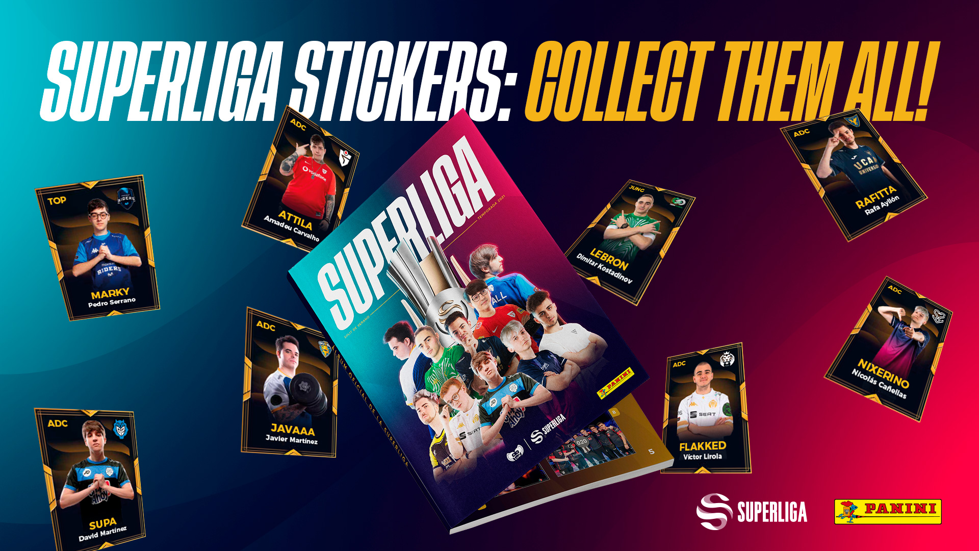 Panini partners with LVP to release Superliga sticker album thumbnail