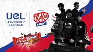 KITKAT CHUNKY partners with Malaysian esports competition University e-League