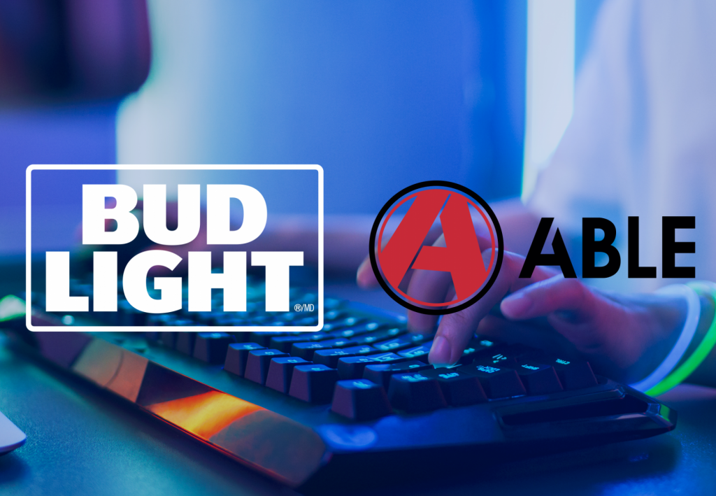 Bud Light and Able Esports