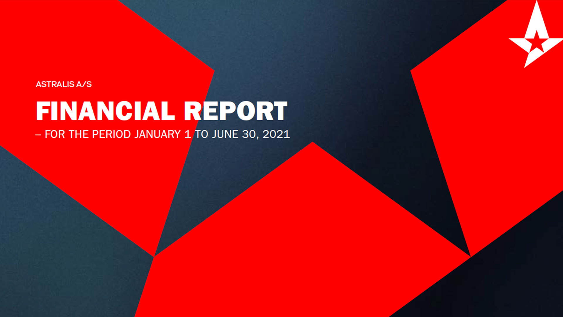 Astralis Group H1 2021 Financial Report