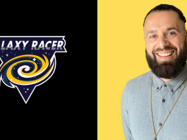 The Galaxy Racer Logo and Danny Lopez
