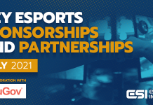 esports sponsors July 2021