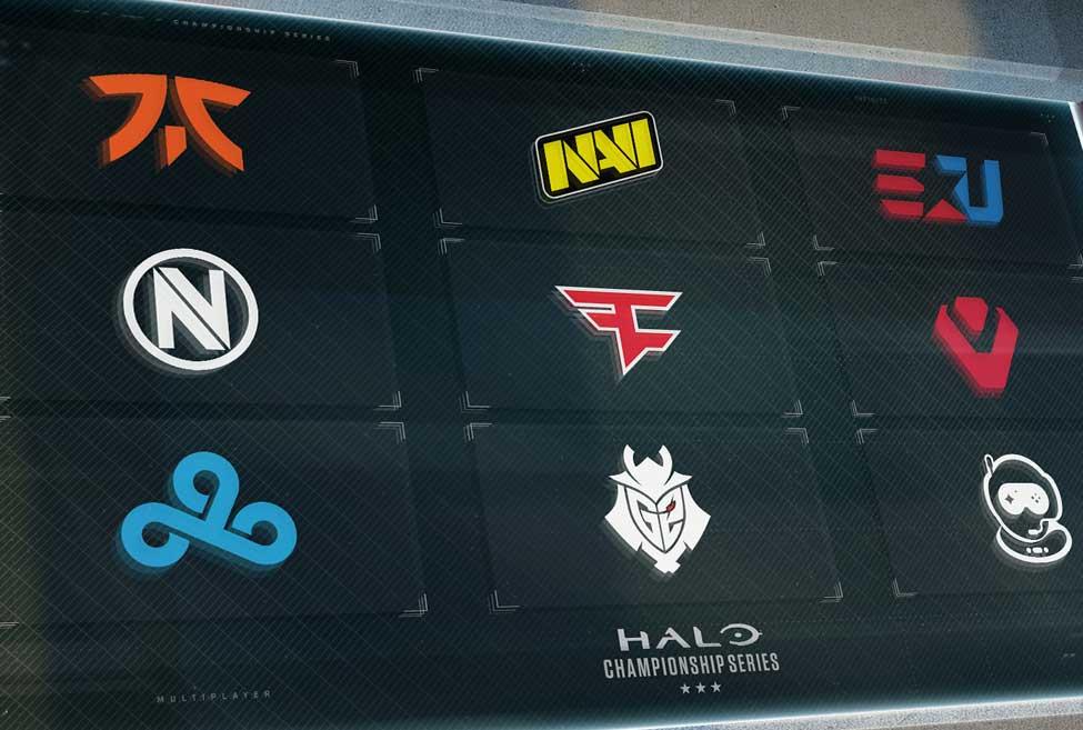 Halo esports teams