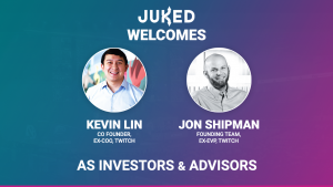 Pictures of Juked investors Lin and Shipman