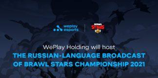 WePlay Holding Russian Brawl Stars Broadcast