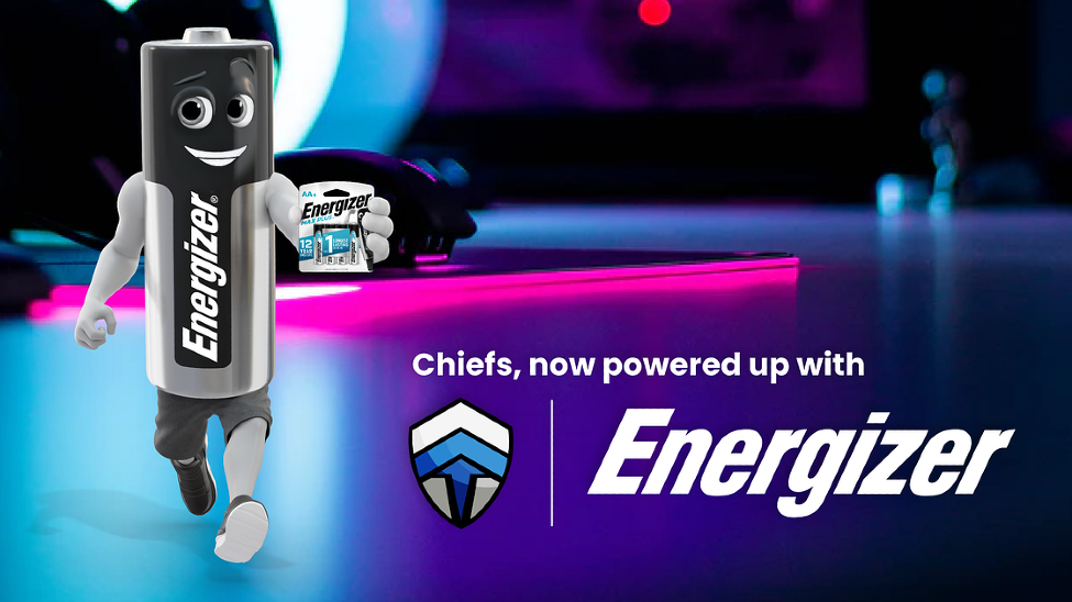 The Chiefs unveils partnership with Energizer thumbnail