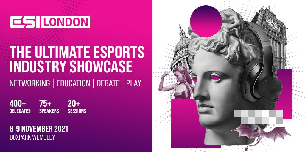 Esports industry showcase ESI London returns on 8-9th November thumbnail